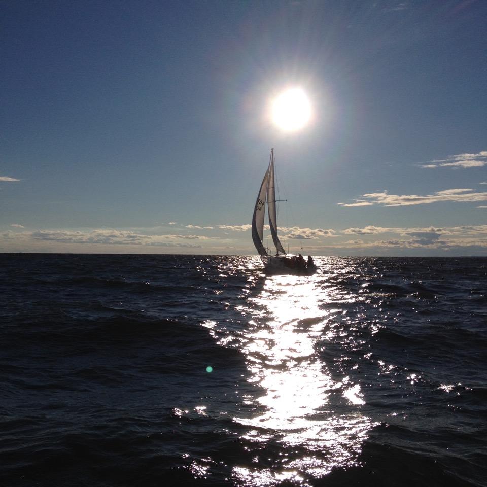 Allegro on a sunny evening