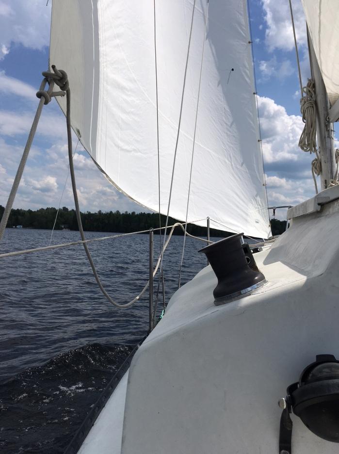 Blaze first sail with BSSC
