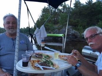 Campbells Bay dinner