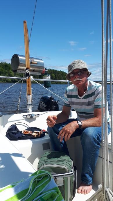 Jan at July 14 picnic